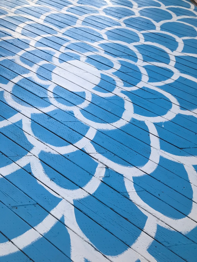 My deck Mandala